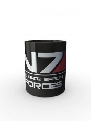 Černý hrnek N7 Alliance Special Forces