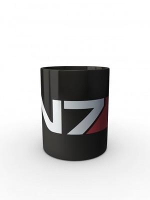 Černý hrnek N7