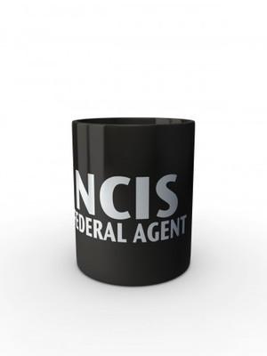 Černý hrnek NCIS Federal agent