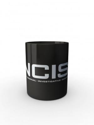 Černý hrnek NCIS Naval Criminal Investigative Service