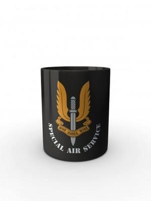 Černý hrnek SAS Special Air Service