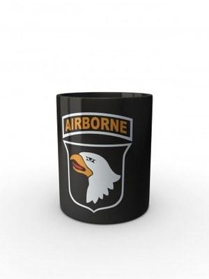Černý hrnek U.S. ARMY 101st Airborne Division