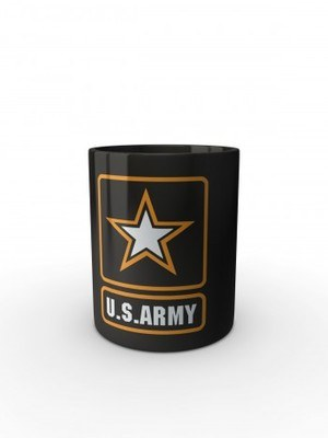 Černý hrnek U.S. ARMY Logo