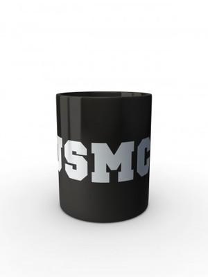 Černý hrnek USMC