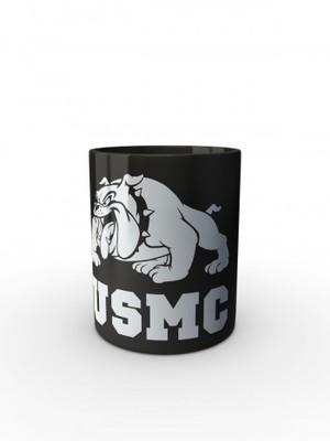 Černý hrnek USMC Devil Dogs