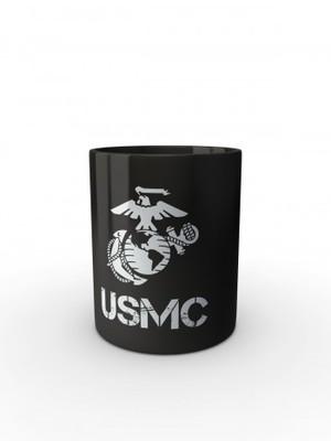 Černý hrnek USMC EGA Simple