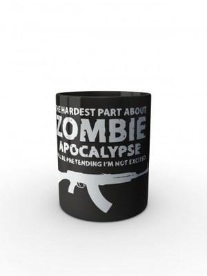 Černý hrnek Zombie Apocalypse vz. 58 / CZ 858 Tactical