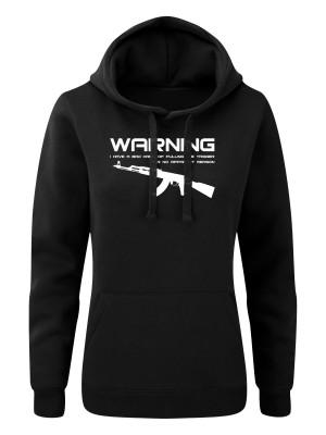 Dámská mikina s kapucí BAD HABIT AK-47