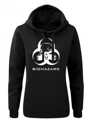 Dámská mikina s kapucí Biohazard