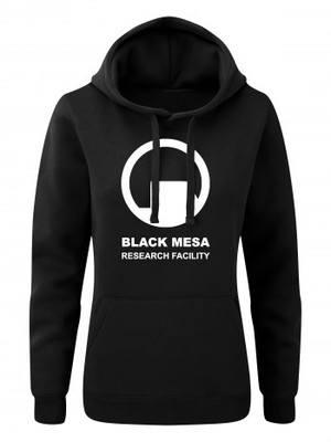 Dámská mikina s kapucí Black Mesa Research Facility