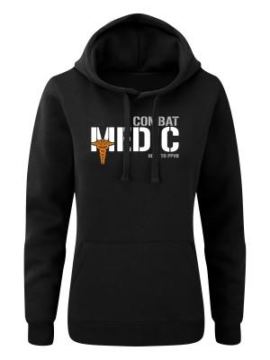 Dámská mikina s kapucí Combat Medic - GOES TO PPVB