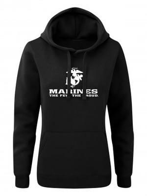 Dámská mikina s kapucí EGA Marines The Few The Proud