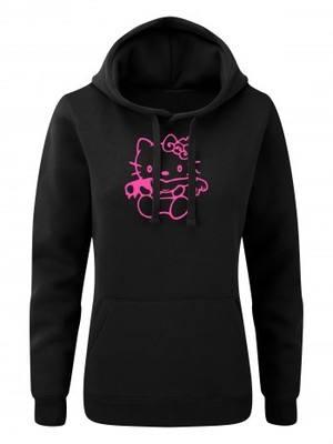Dámská mikina s kapucí Hello Kitty Yummy Yummy