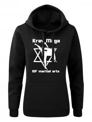 Dámská mikina s kapucí Krav Maga IDF martial arts