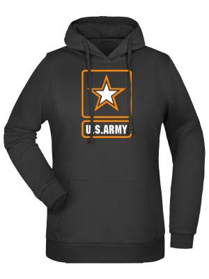 Dámská mikina s kapucí U.S. ARMY Logo