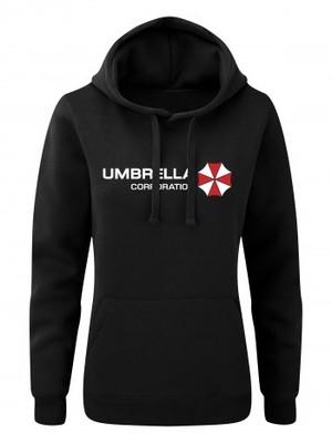 Dámská mikina s kapucí Umbrella Corporation Line