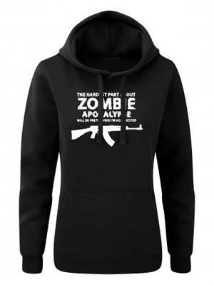 Dámská mikina s kapucí Zombie Apocalypse vz. 58 / CZ 858 Tactical