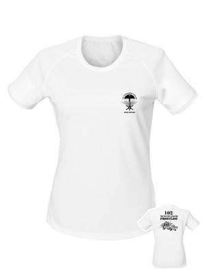Dámské funkční tričko 102. průzkumný prapor - LRD-130 Kajman