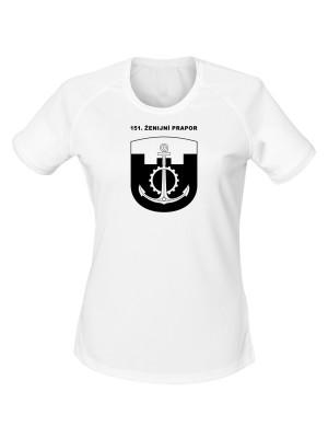 Dámské funkční tričko 151. ženijní prapor