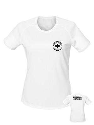 Dámské funkční tričko CZECH ARMY MEDICAL SERVICE