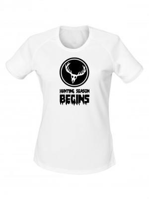 Dámské funkční tričko DEER Hunting Season Begins