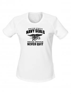 Dámské funkční tričko United States NAVY SEALS Never Quit