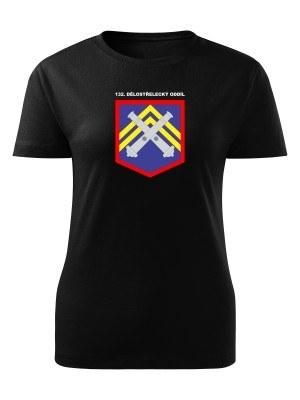 Dámské tričko 132. dělostřelecký oddíl