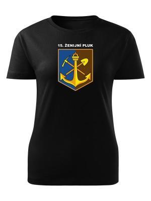 Dámské tričko 15. ženijní pluk