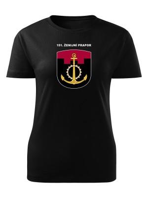 Dámské tričko 151. ženijní prapor