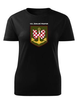Dámské tričko 153. ženijní prapor