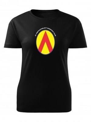 Dámské tričko 25. protiletadlový raketový pluk