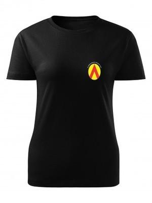 Dámské tričko 25. protiletadlový raketový pluk Simple