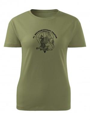 Dámské tričko 41. mechanizovaný prapor