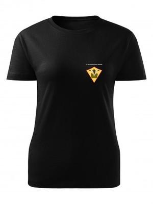 Dámské tričko 71. mechanizovaný prapor Simple
