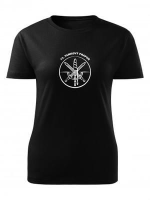 Dámské tričko 73. tankový prapor