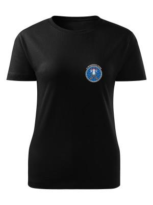 Dámské tričko 74. mechanizovaný prapor - simple
