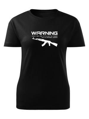 Dámské tričko BAD HABIT AK-47