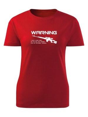 Dámské tričko BAD HABIT SVD Dragunov