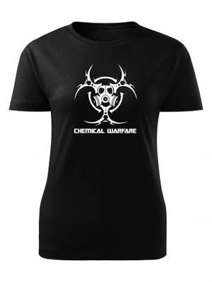 Dámské tričko Biohazard Chemical Warfare