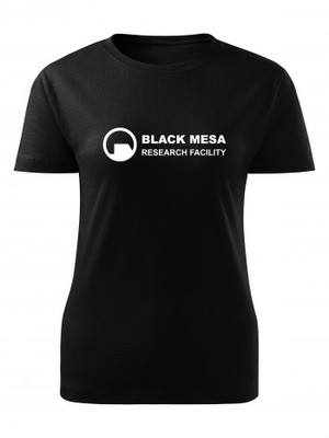 Dámské tričko Black Mesa Research Facility Line