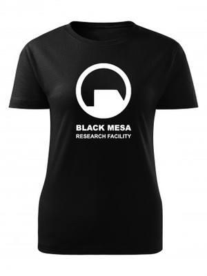 Dámské tričko Black Mesa Research Facility