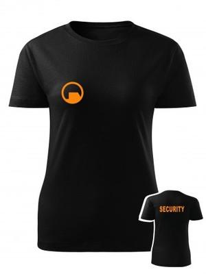 Dámské tričko Black Mesa SECURITY Force