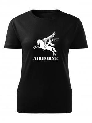 Dámské tričko British Airborne Pegasus