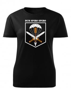 Dámské tričko CAF 601. SKSS Dum Spiro Spero
