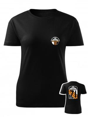 Dámské tričko CAF Legacy of 71st Airborne Battalion