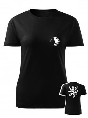 Dámské tričko Czech Armed Forces Lion