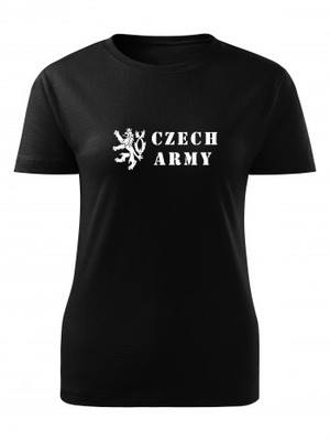 Dámské tričko Czech Army Lion