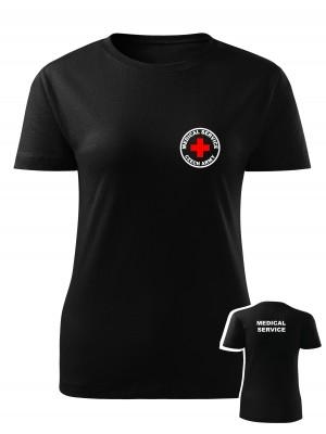 Dámské tričko CZECH ARMY MEDICAL SERVICE