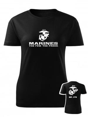 Dámské tričko EGA Marines EST. 1775