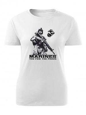 Dámské tričko EGA Marines The Few The Proud 2
